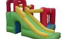 Playcenter mit Rutsche