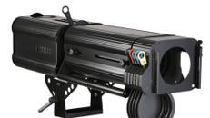 Verfolger HMI 575, Scheinwerfer, Bühnenscheinwerfer, Lichttechnik, Effekte, Lichtshow, Objektbeleuchtung
