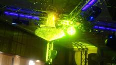 Party XL Komplettset Ton + Licht + Traversen Musikanlage, Partyanlage, Tonanlage, Beschallungsanlage, Lichtanlage, Beleuchtungsanlage LED, Lichteffekten, Lautsprecher Boxen, Basslautsprecher