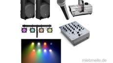 LED-Licht- und Ton Anlage für Partys und Veranstaltungen