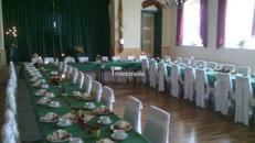 Saal für 80 Personen oder Festzelt bis zu 300 Pers