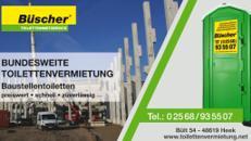 GRATIS Lieferung ✔ deutschlandweit: Baustellentoilette | stilles Örtchen | anschlussfreie Toilette |
