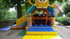 Hüpfburg Spongebob