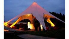 """Vermietung Event-Dome / Zelte - """"Sternzelt 14m"""""""