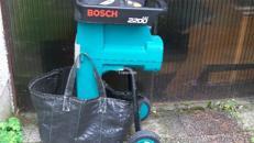 Leisehächsler Bosch bis 35 mm  Gartenhächsler
