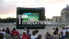 Großbildleinwand für Outdoor Veranstaltungen