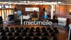 Bühne 6 x 4m inkl. Anlieferung, Auf- und Abbau