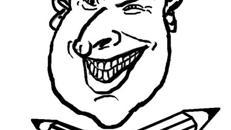 Karikaturist und Schnellzeichner