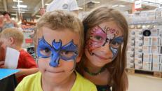 Kunst- und Kinderschminken