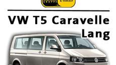 VW T5 Caravelle mit langem Radstand 9 Sitzer und v