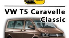 VW T5 Caravelle Classic Kleinbus 7 - 9 sitzer