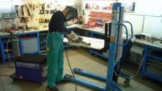 Schutzgas-Schweißgerät / Schutzgasschweißgerät 230 V