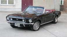 Ford Mustang 1968 GT Cabrio für die Traumhochzeit