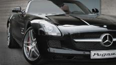 Mercedes SLS AMG mieten:Mercedes SLS AMG Mietwagen