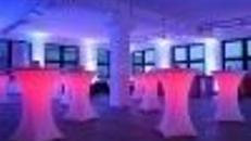 STEHTISCH LED RGB BELEUCHTET MIT FERNBEDIENUNG