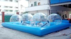 Wasserball-Walk / Wasserbälle / 4 Bälle