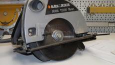 Handkreissäge, BlackDecker, 1020 Watt