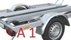 Motorradanhänger 750 kg Gesamtgewicht A 1  Anhängervermietung Anhängerverleih Anhänger
