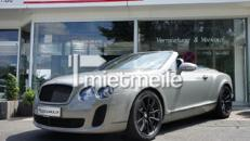 Bentley Continental GTC Supersports mieten