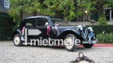 Hochzeitsauto - Brautauto - Hochzeitsoldtimer - - Oldtimer Citroen 11 CV