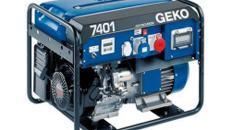 Stromerzeuger, Generator, Aggregator, Stromgenerator 6 kW für mobile Einsatz