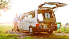 VW T4 Bulli Camper Wohnmobil privat mieten Berlin