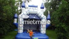 Ritterburg blau/weiss , 4 x 5 m