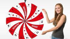Bundesweiter Glücksradverleih, viele Motive