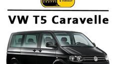 Kleinbus-9sitzer* VW T5 Caravelle Classic*