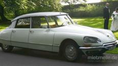 Hochzeitsauto Oldtimer Brautwagen Citroen DS Göttin