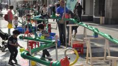 Wasserbaustelle, Wasserlabyrinth mieten