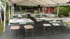 Rustikale Brauerei Stühle und Tische & Konferenzstühle