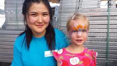 Kinderschminken Glücksrad Popcornmaschine Hüpfburgen Kinderanimation aus Kiel