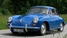 Oldtimer / Porsche / Type 356 B / Coupe / Sportwagen / Auto