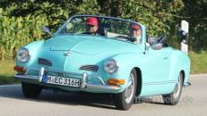 Oldtimer / VW Karmann Ghia / Cabrio / Sportwagen / Auto