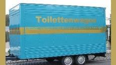 Toilettenwagen Nr.1 mieten: Inkl. 20 Km, Auf-/Abbau.