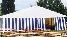 Partyzelt/ Festzelt/ Pavillons/ Party/ Event/ Messe/ Zelt/ Bühnen/ Tanzboden/ Fußboden/ Bewirtungsanbauten/ Beleuchtung/ Dekoration/ Bestuhlung/ Schankanlagen