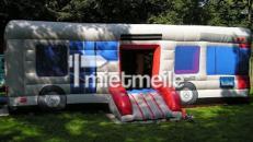 Hüpfburg BUS . Überdachter Hüpfspielplatz!