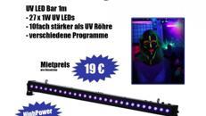 ULTRA LED UV Licht / Schwarzlicht / Neon