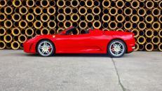Ferrari Spider, F430, Ferrari, rot, Sportwagen, Cabrio