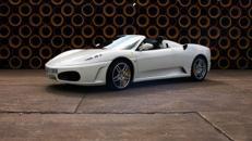 Ferrari Spider, F430, Ferrari, weiss, Sportwagen, Cabrio