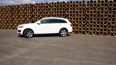 Audi Q7 S-Line, Audi, Q7, S-Line, Sportwagen, weiss