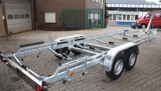 3500kg Bootstrailer für Segel- und Motorboote