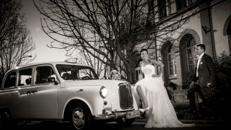 Hochzeitsauto London Taxi Hochzeits-Sonderfahrten