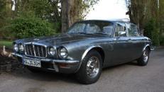 Jaguar XJ6 long Oldtimer Hochzeitsauto
