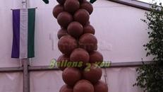 Ballongirlanden, Ballondekoration, Heliumballons