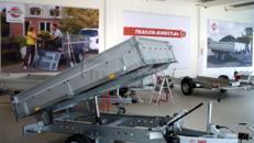 Pkw Anhänger - Rückwärtskipper - zul. GG 1500kg