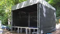 Bühne mit Bühnendach - 6 x 5m