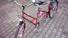 Tandemfahrrad - Tandem Fahrrad  -   5 Gang