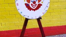 Glücksrad - Gewinnspiel für Kids